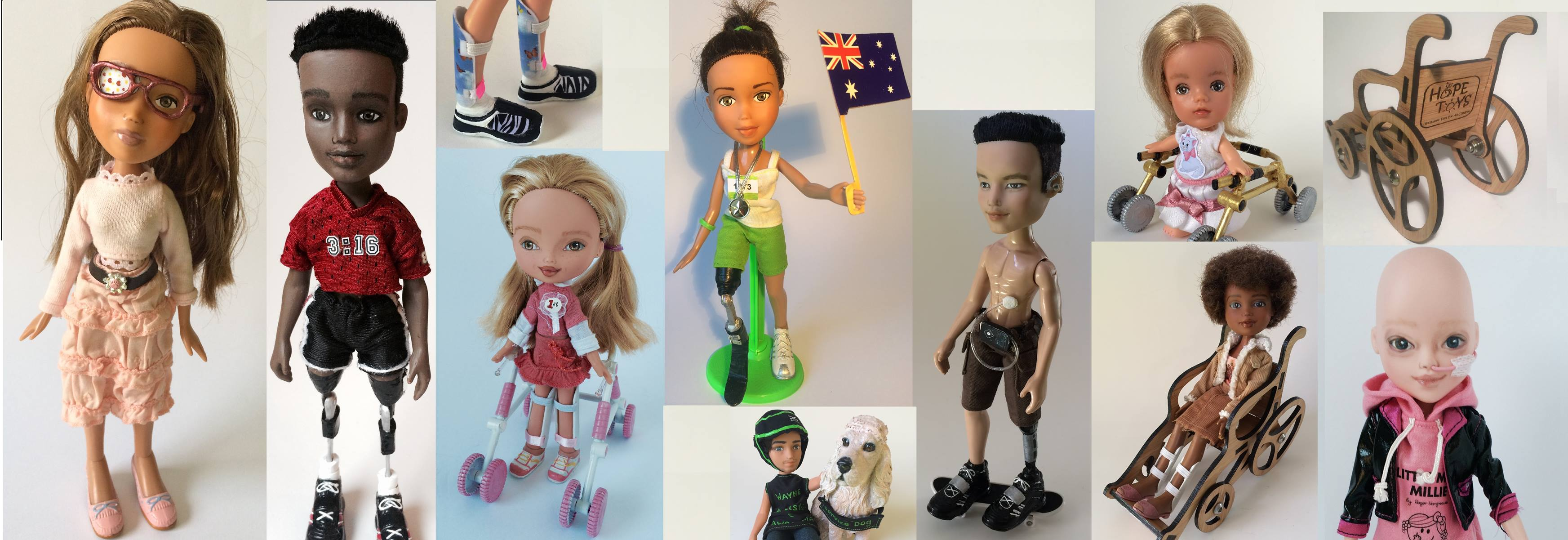 Hope Toys' inclusive toy range (Image credit: Hope Toys)