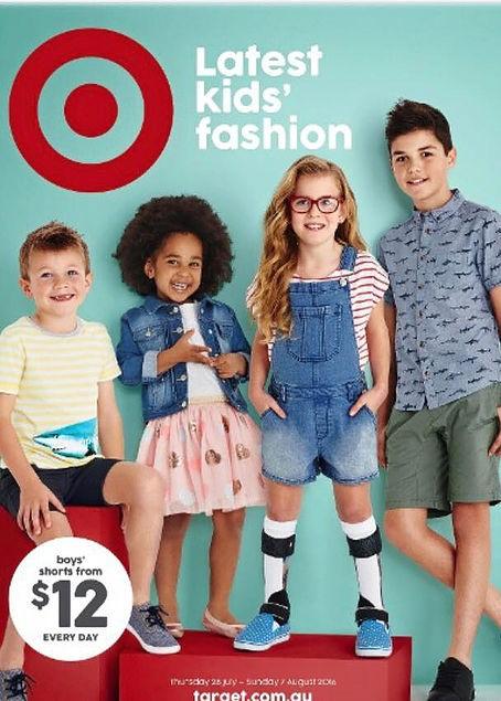 Target catalogue featuring Emily (Image credit: Target.com.au)