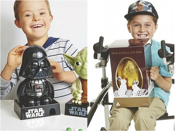 Disability diversity and inclusion (Image source: Kmart.com.au)