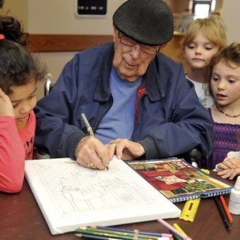 Intergenerational Learning - Image credit: EnidNews.com